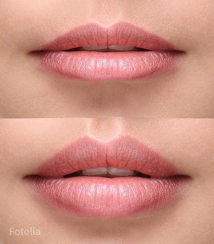 Wie schmale Lippen zum Hingucker werden