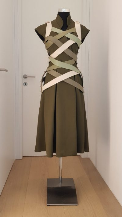 Kleid, grün, Marina Hoermannseder