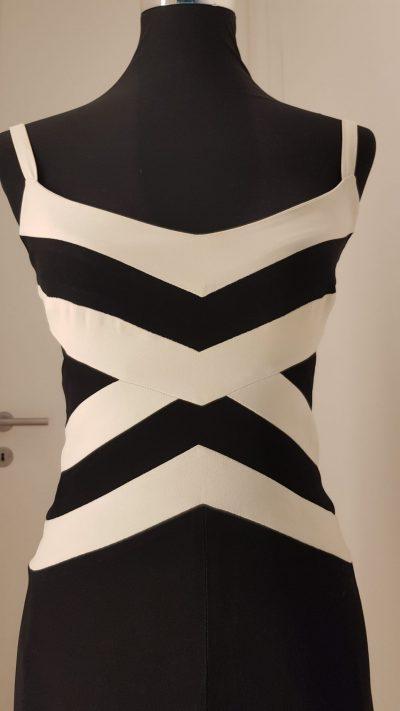 Cocktailkleid, schwarz-weiß, Sophie Sitbon