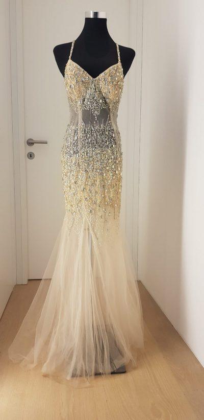 Ballkleid, Terani Couture, weiß