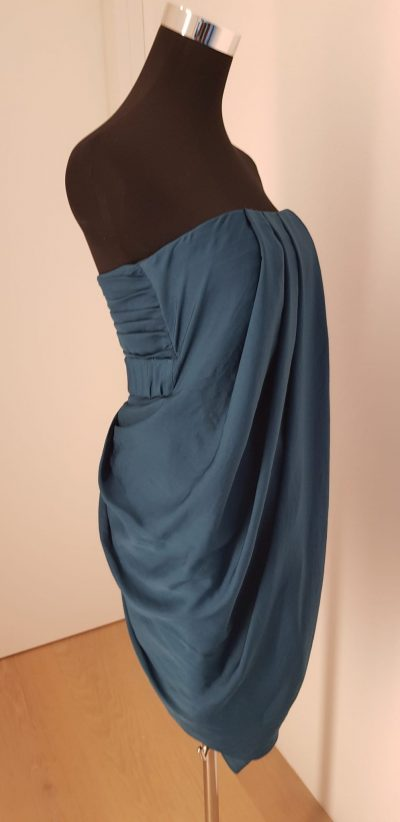 Cocktailkleid, blau, Karen Millen