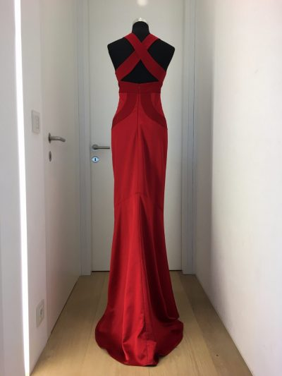 Ballkleid, rot, Callisti Fashion