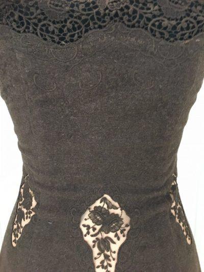 Trachtenkleid, braun, Aniko Couture
