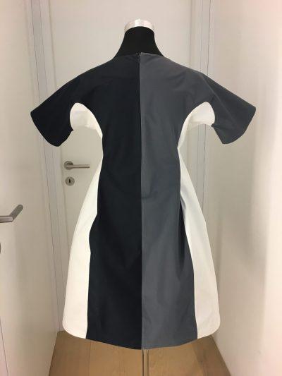 Kleid, Jil Sander, schwarz, weiß