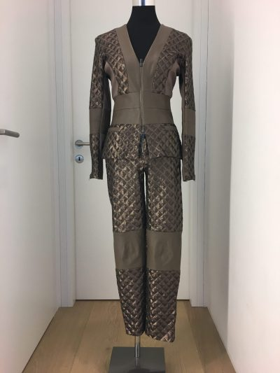 Anzug, Callisti Fashion, braun