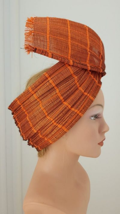 Headpiece, Turban, Stroh