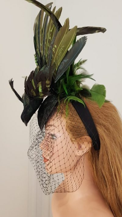 Headpiece, Vogel, Federn