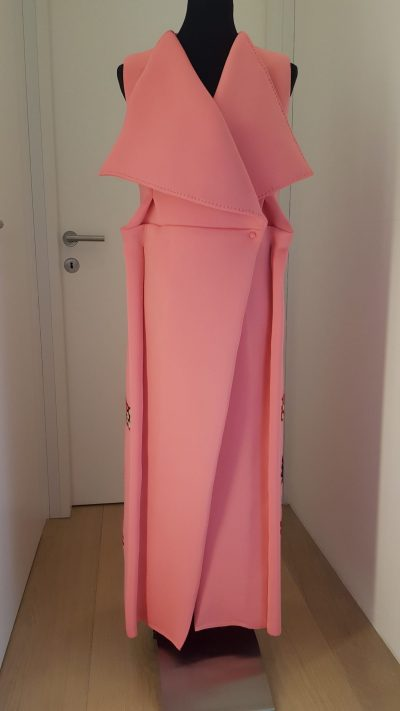 Mantel, Nelmit, rosa