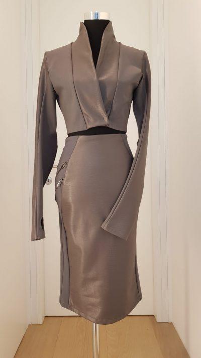 Kostüm, Callisti Fashion, grau