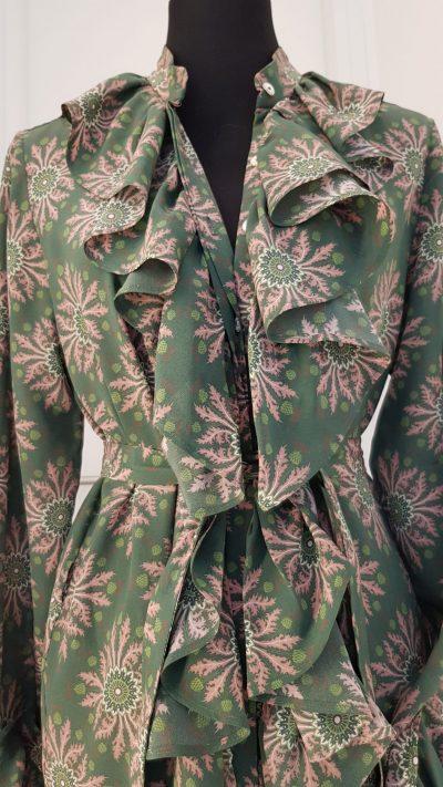 Kleid, grün, Marcel Ostertag