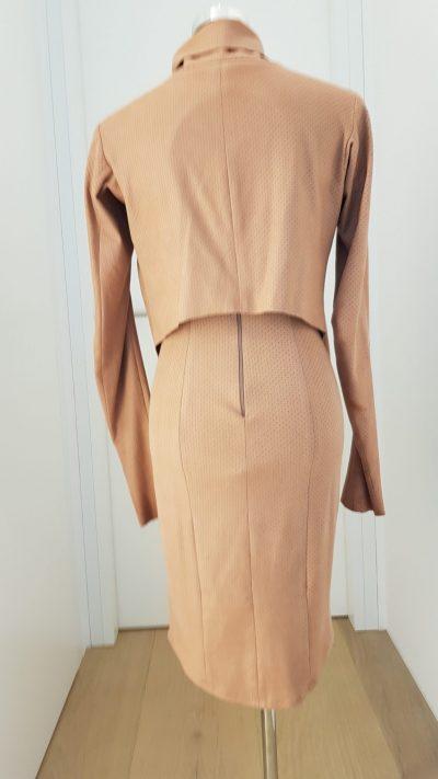 Kostüm, braun, Callisti Fashion