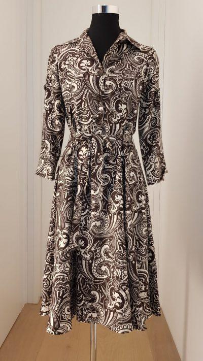 Kleid, braun, Tommy Hilfiger