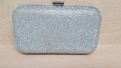Clutch, Strass, glitzer
