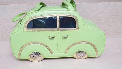 Handtasche, Auto, grün