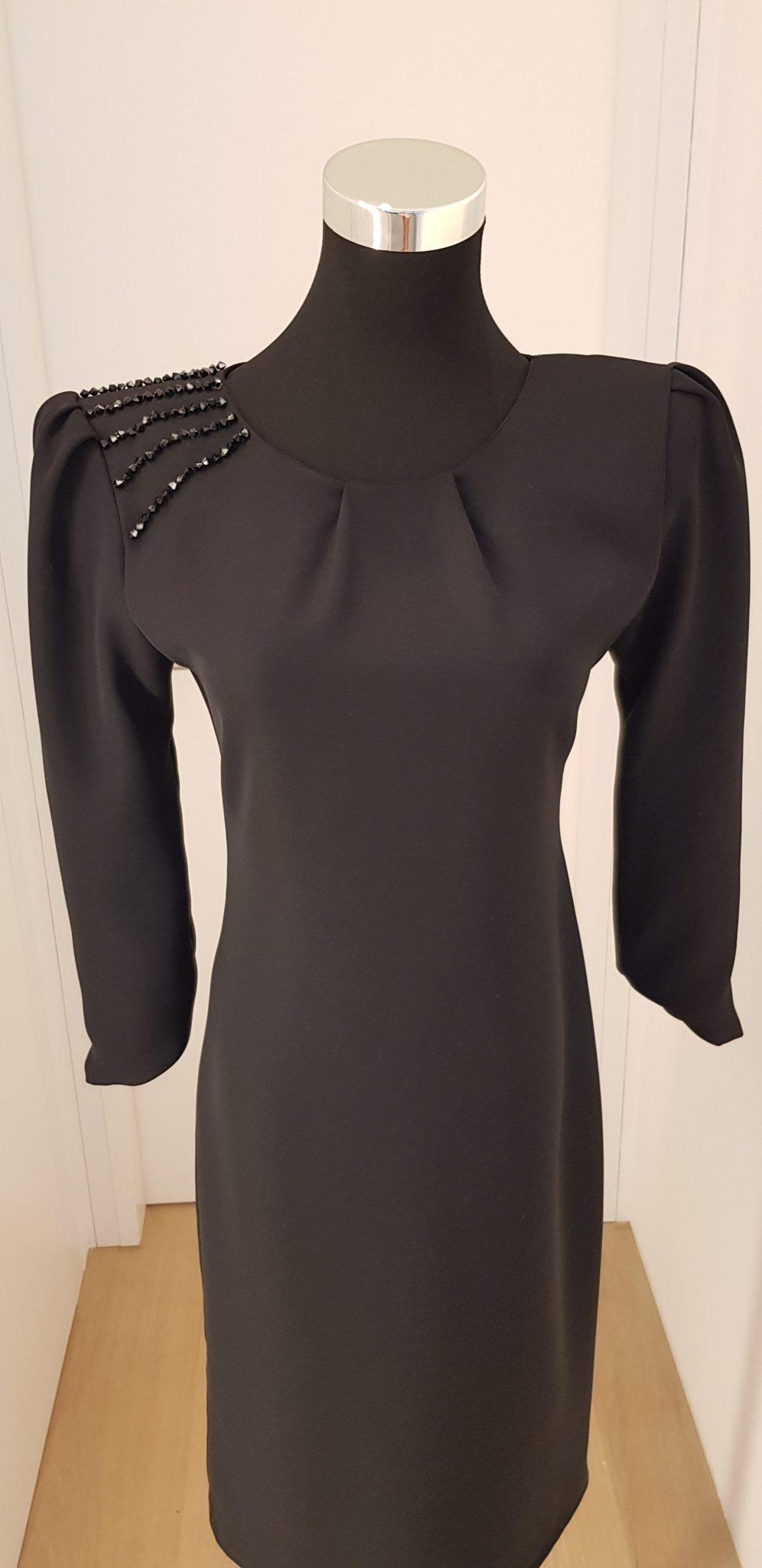 cocktailkleid, schwarz, callisti fashion - luxuspuppe