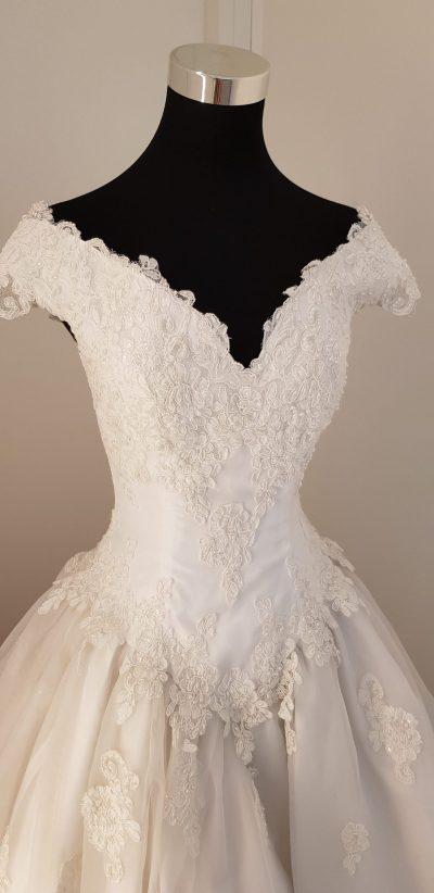 Brautkleid, weiß, Alfred Angelo