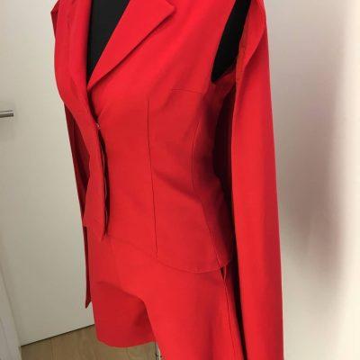 Anzug, rot, Callisti Fashion