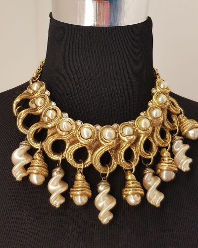 Halskette, gold