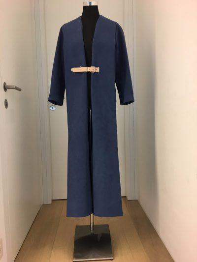 Mantel, Marina Hörmannseder, blau