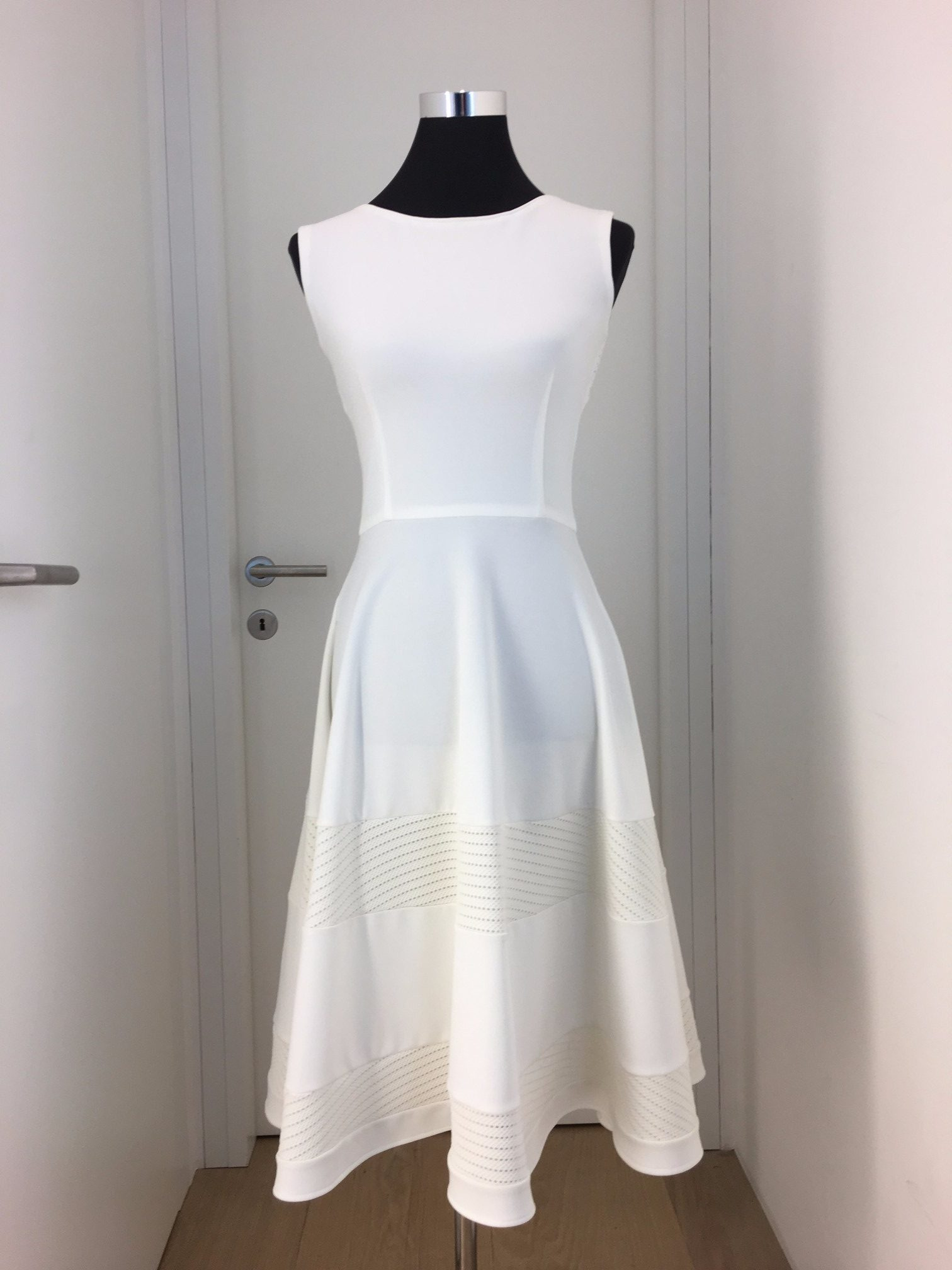 kostüm, kleid, weiß, callisti fashion - luxuspuppe-luxusmode