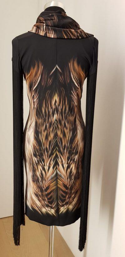 Cocktailkleid, Aniko Smart Couture, schwarz, braun, sale only