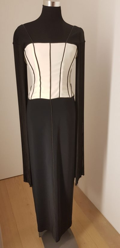 Ballkleid, Aniko Smart Couture, schwarz, weiß, sale only